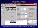 property pages