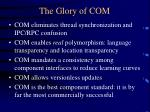 the glory of com