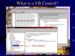 what is a vb control