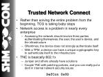 trusted network connect