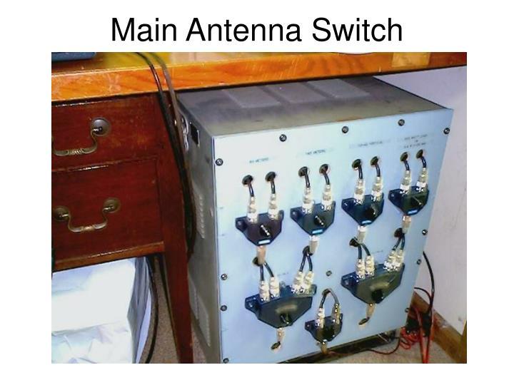 Main Antenna Switch