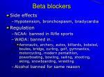 beta blockers47