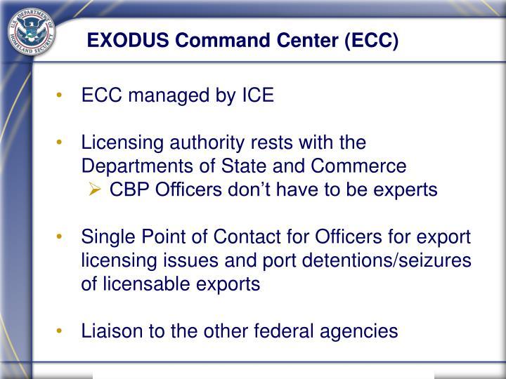 EXODUS Command Center (ECC)