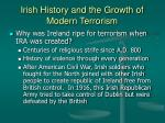 irish history and the growth of modern terrorism20
