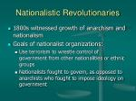 nationalistic revolutionaries15