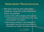 nationalistic revolutionaries17