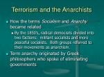 terrorism and the anarchists6