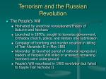terrorism and the russian revolution11