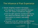 the influence of past experience26