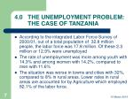 4 0 the unemployment problem the case of tanzania