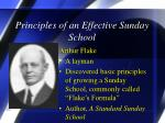 principles of an effective sunday school1