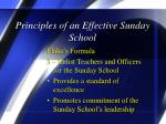 principles of an effective sunday school4