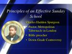 principles of an effective sunday school7