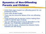 dynamics of non offending parents and children
