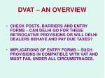 dvat an overview9