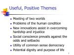 useful positive themes