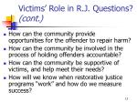 victims role in r j questions cont13