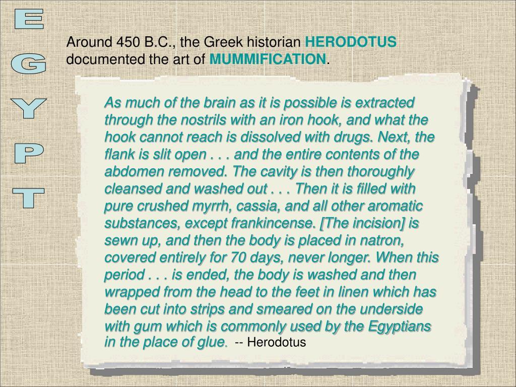 Around 450 B.C., the Greek historian