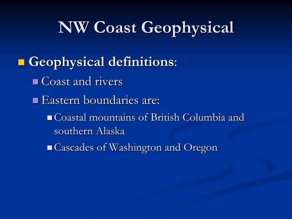 NW Coast Geophysical