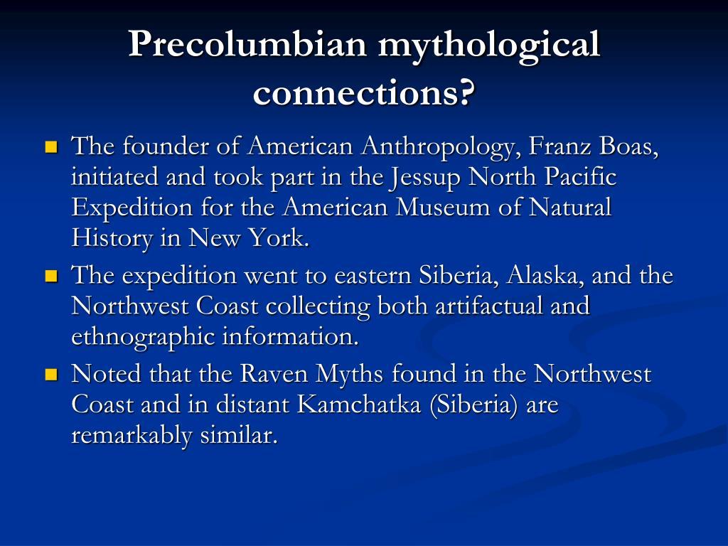 Precolumbian mythological connections?