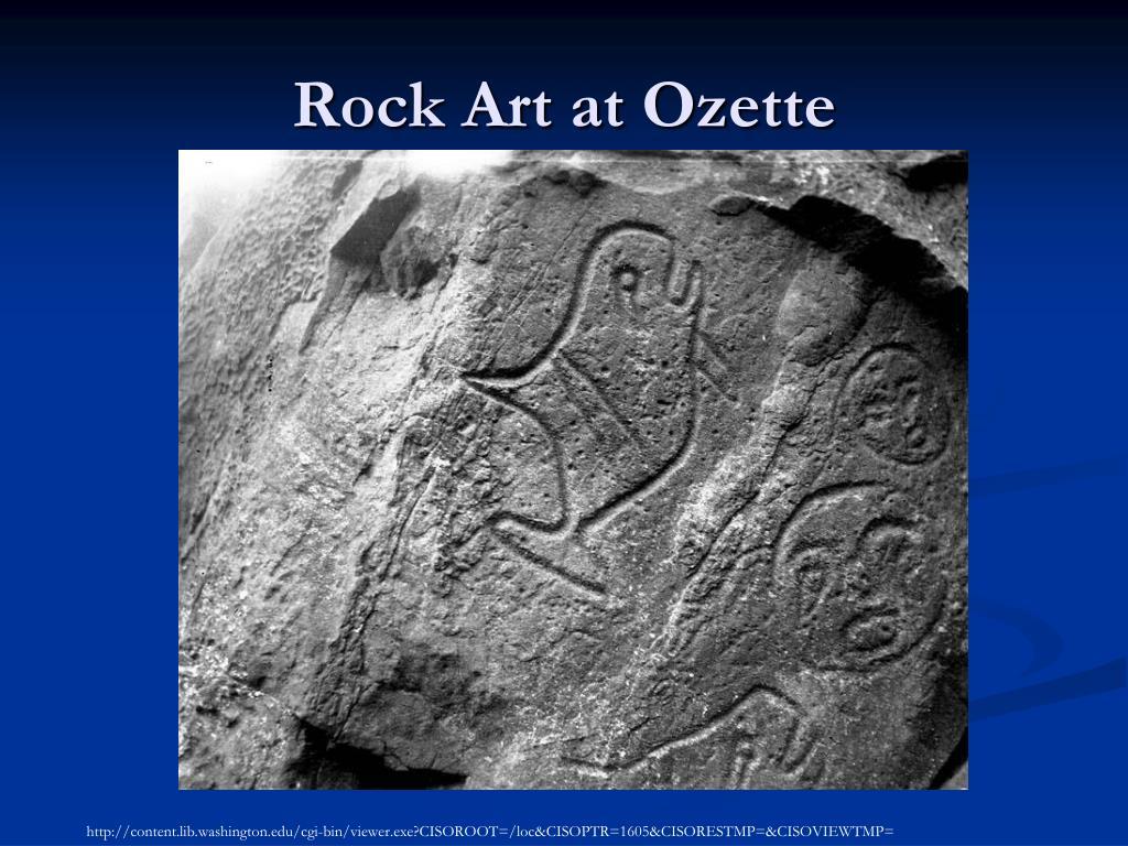 Rock Art at Ozette