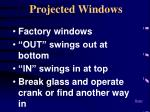 projected windows