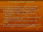 government actions continued1