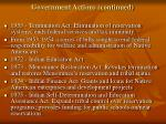 government actions continued2