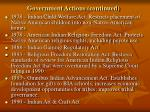 government actions continued4