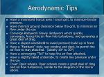 aerodynamic tips