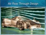 air flow through design