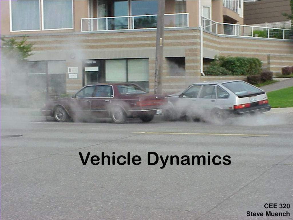 vehicle dynamics l.