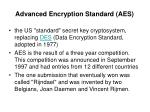 advanced encryption standard aes