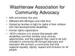 washtenaw association for community advocacy