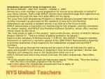 nys united teachers
