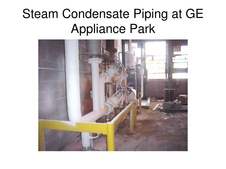 Steam Condensate Piping at GE Appliance Park