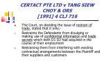 certact pte ltd v tang siew choy ors 1991 4 clj 71675