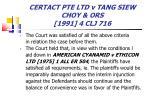 certact pte ltd v tang siew choy ors 1991 4 clj 71677