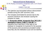 retrenchment redundancy dr hc huang consultancy engineers s b v lim choon ntia 2000 2 ilr 330