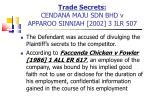 trade secrets cendana maju sdn bhd v apparoo sinniah 2002 3 ilr 507