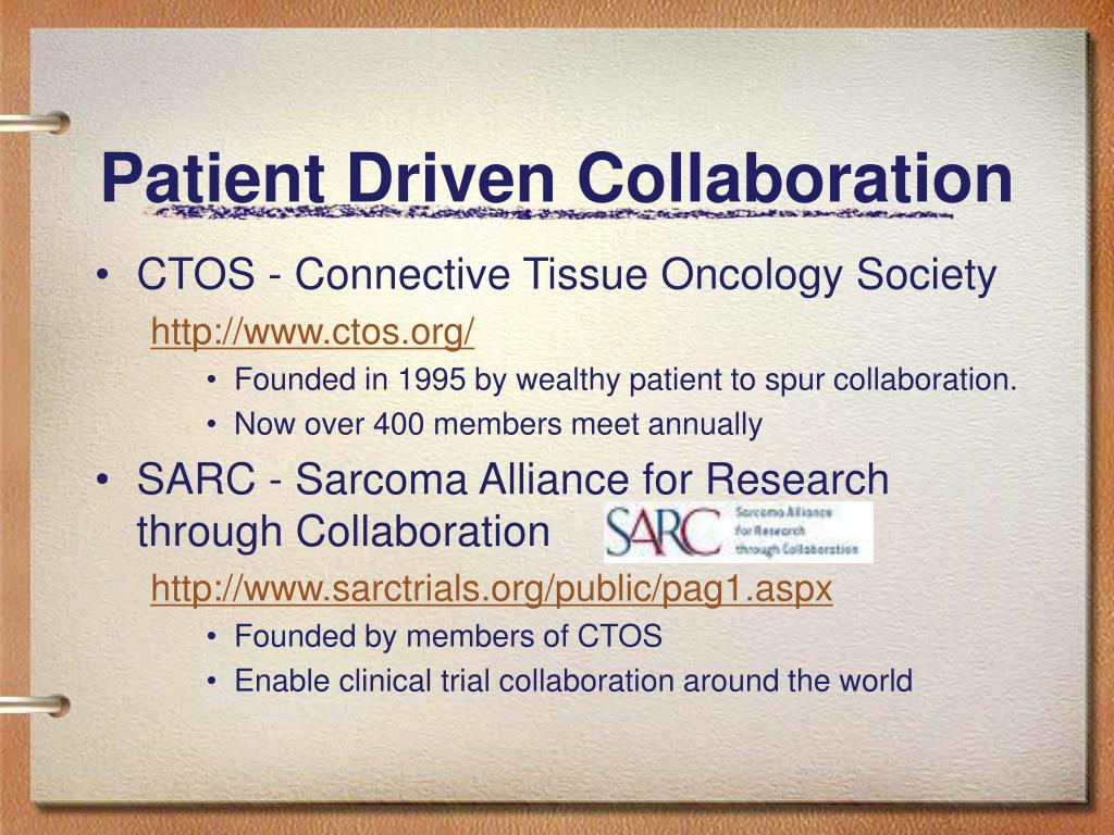 Patient Driven Collaboration
