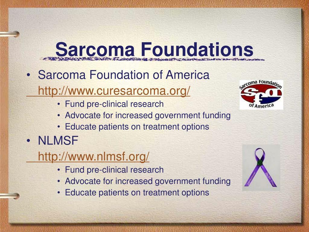 Sarcoma Foundations