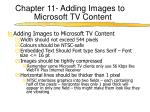 chapter 11 adding images to microsoft tv content2