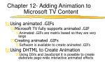 chapter 12 adding animation to microsoft tv content1