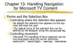 chapter 13 handling navigation for microsoft tv content2