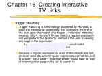 chapter 16 creating interactive tv links8