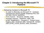 chapter 2 introducing the microsoft tv platform5