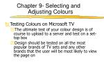 chapter 9 selecting and adjusting colours5