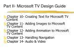 part ii microsoft tv design guide1