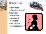 shame train